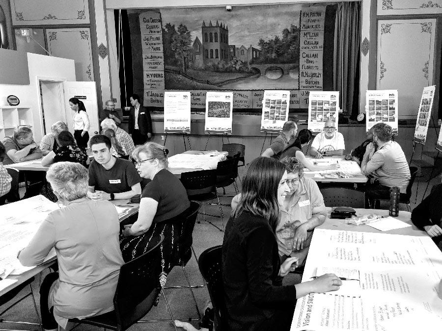 Community consultation session.